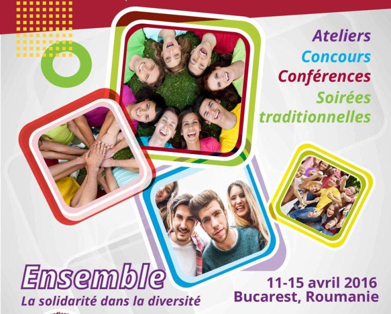 Studentii francofoni din toata lumea vin la Bucuresti!