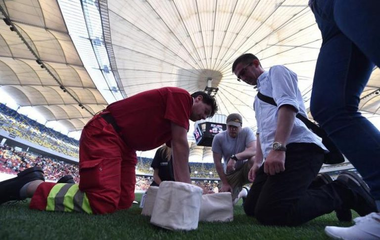 Peste 10.000 de bucuresteni au invatat cum sa salveze o viata, pe Arena Nationala!