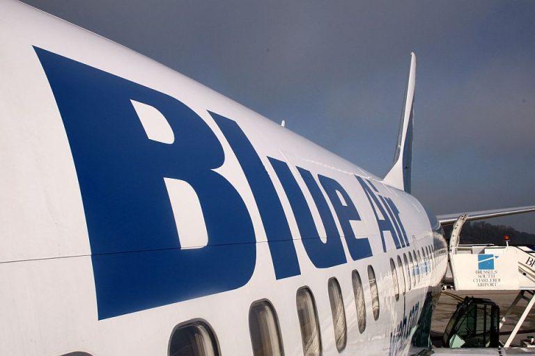 """PANICA la bordul avionului Blue Air pe ruta Milano-Bucuresti! """"Pilotul ne-a salvat vietile!"""""""