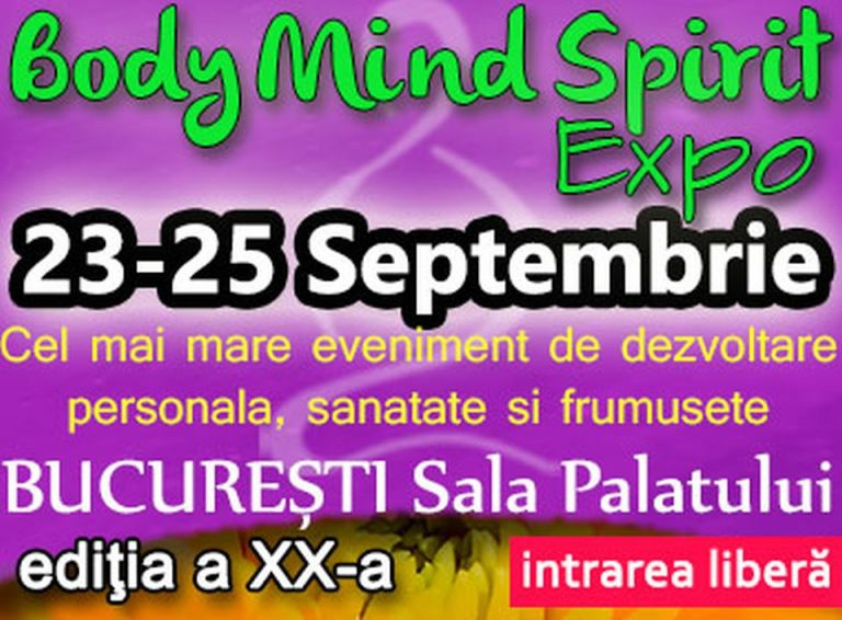 Bucurestiul gazduieste cel mai mare eveniment de dezvoltare personală, sănătate și frumusețe din România!