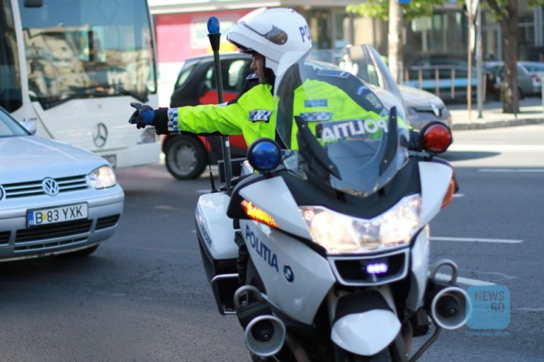 Sofer imobilizat in trafic si arestat, pe strada Doamnei, dupa ce a injurat politistii!