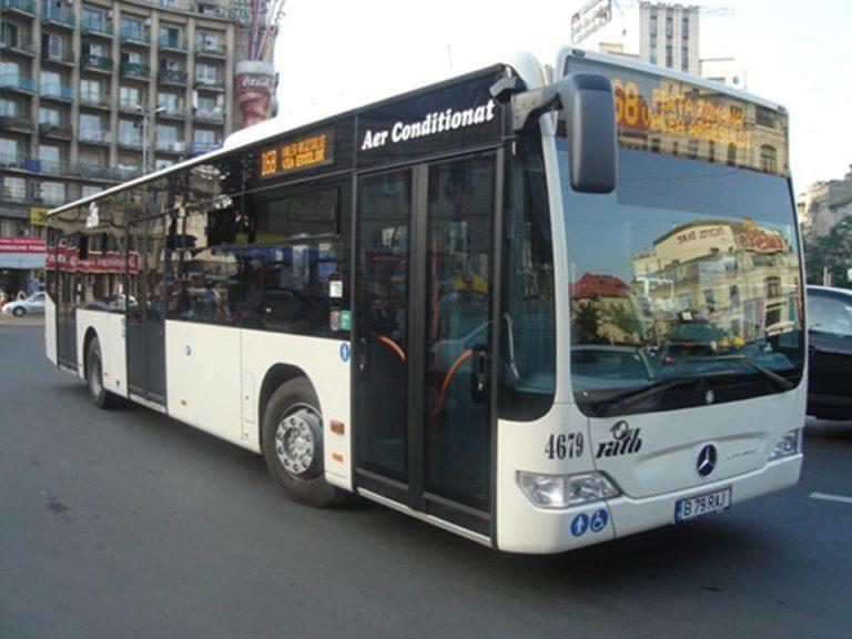 Incepand de luni autobuzele vor circula pe doua noi linii in Bucuresti
