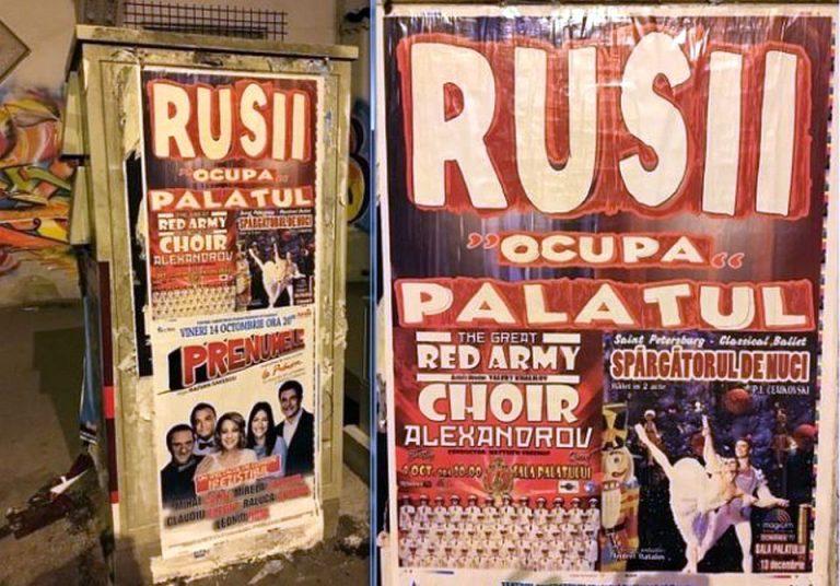 Concert CONTROVERSAT in inima Bucurestiului: Rusii OCUPA Palatu`!