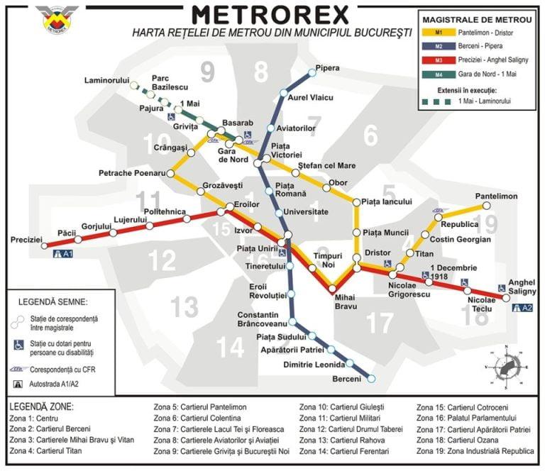 Omul care a gandit dezvoltarea metroului bucurestean: In cativa ani Metrorex va conecta toate localitatile din jurul Bucurestiului!