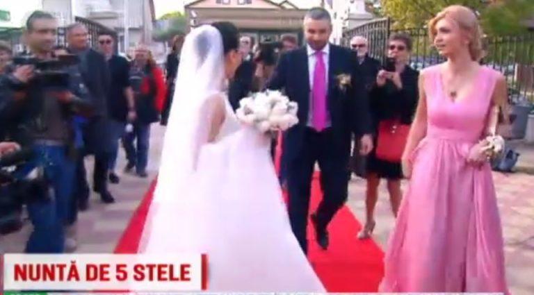 VIDEO – Nunta cu SUPER-VEDETE la Bucuresti! Nadia Comaneci si Ion Tiriac printre invitati!