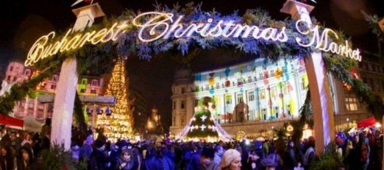 Vineri se aprind luminitele de Craciun in Bucuresti. Programul Targului de Craciun