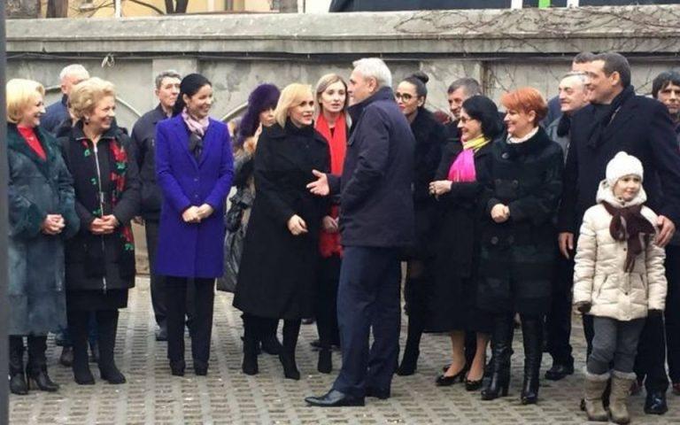 Traditionalistul Liviu Dragnea a venit cu amanta, de doar 24 de ani, la cheful PSD!