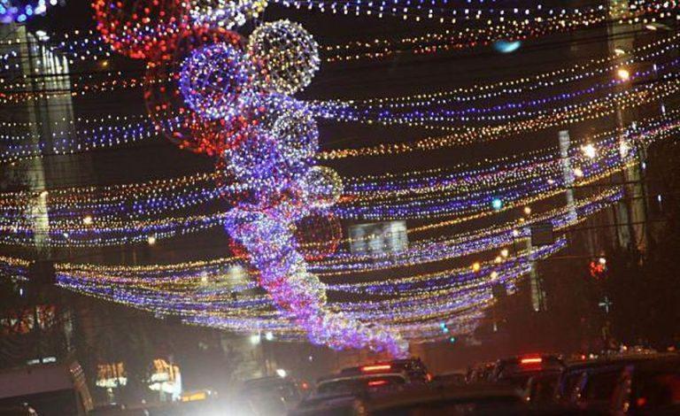 La ce ora se aprind astazi luminile de sarbatori din Bucuresti?!