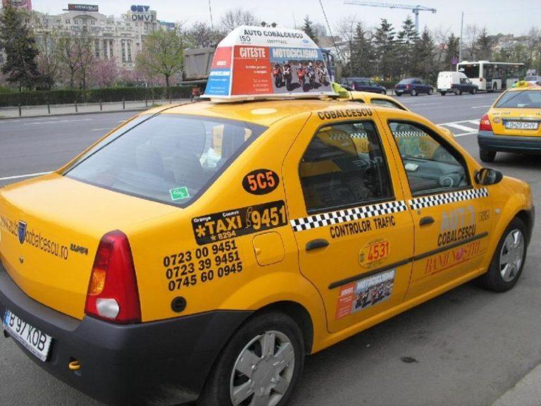 Un taximetrist si-a amenintat clientul, la finalul unei curse, si i-a luat geanta cu 6.000 de lei!