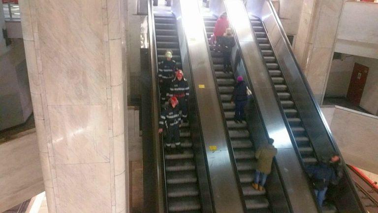 Au aparut primele imagini cu tentativa de sinucidere de la metrou