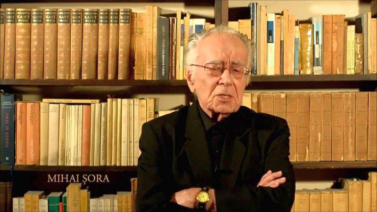 """""""Voi fi in Piata Universitatii!"""" La 100 de ani, sciitorul Mihai Sora iese diseara la proteste impotriva amnistiei si gratierii!"""