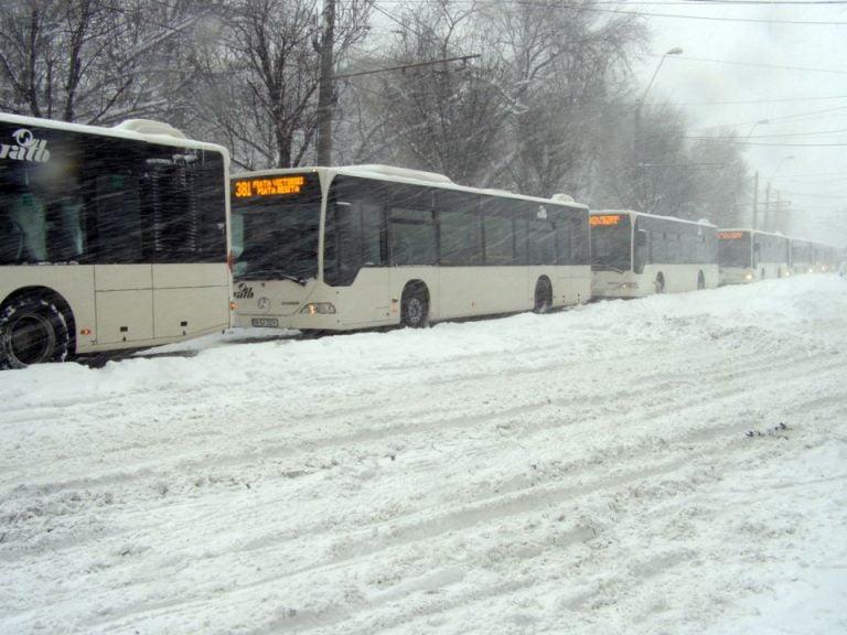 Bucurestiul sub zapada! Unde sunt masinile de topit zapada?