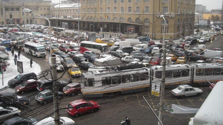 Dati mai departe sa vada si Firea! Bucurestiul este CEA MAI AGLOMERATA capitala din Europa si suntem pe locul 3 IN LUME la trafic!