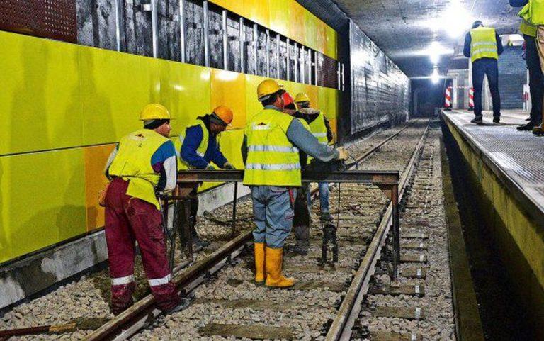 Magistrala 5 de metrou a fost amanata pentru cand o vrea Dumnezeu…