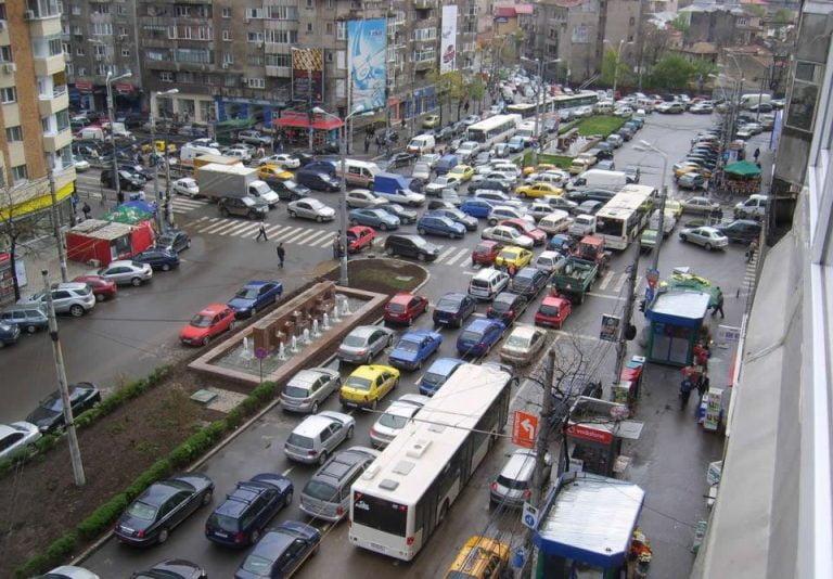 Doar Bangkok si Mexico City ne intrec! Bucurestiul este pe locul 3 in lume la trafic