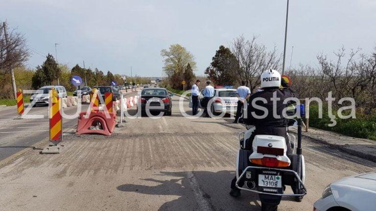 Un bucurestean cu BMW a fost oprit cu focuri de arma pe podul de la Agigea!