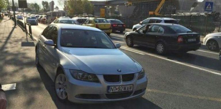 Jurnalist celebru BATUT in centrul Bucurestiului de un cocalar cu BMW!