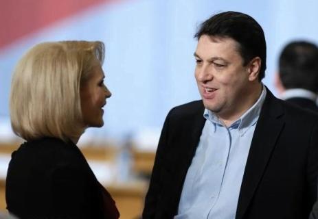 Miscarea anului: Serban Nicolae ii face cadou Gabrielei Firea Arenele BNR!