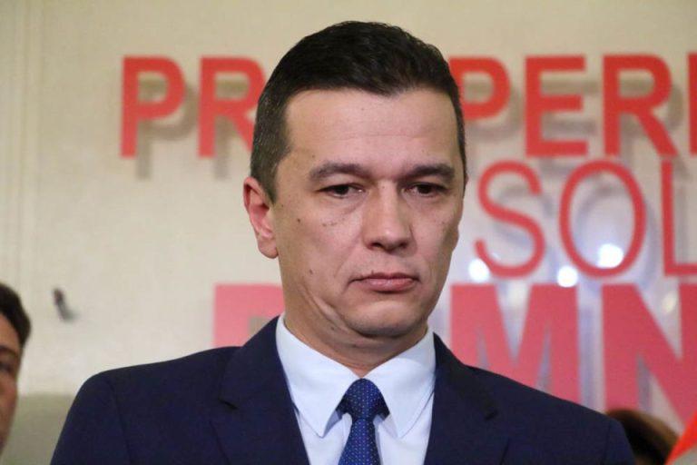Premierul Sorin Grindeanu operat la Spitalul Militar! A fost afectat de un virus!