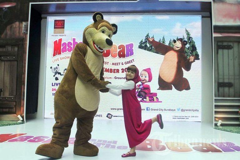 Masha si Ursul revin cu un nou spectacol la Sala Palatului