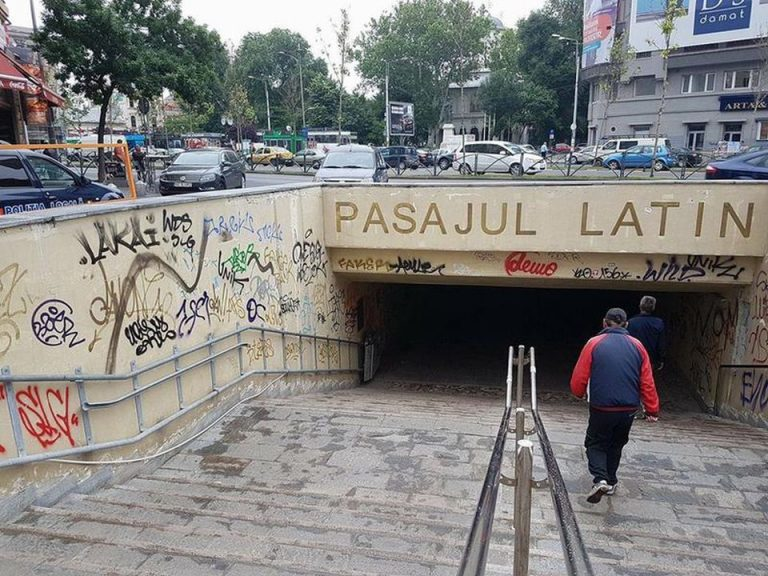 Pe hartile primariei a aparut, peste noapte, o toaleta publica in centrul istoric si a disparut Pasajul Latin! Alta explicatie nu exista!