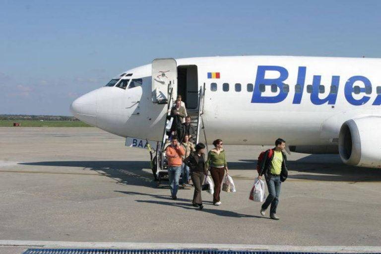 Alerta la bordul unei aeronave Blue Air, imediat dupa ce a decolat de pe Otopeni! Un motor a cedat!