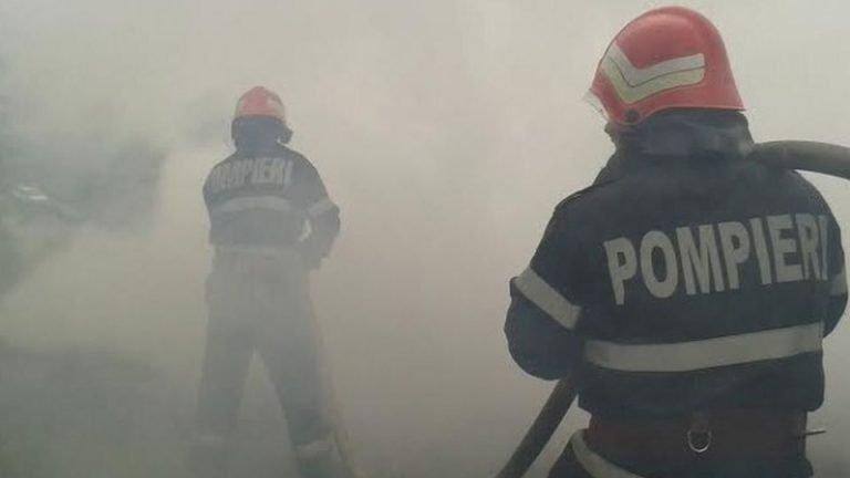 VIDEO-Poluarea masiva a Bucurestiului provine de la incendii de mase plastice si cabluri arse
