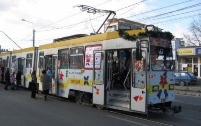 RATB scoate astazi la plimbare Tramvaiul Copiilor! Pe linia 1, intre orele 11:00 – 15:00