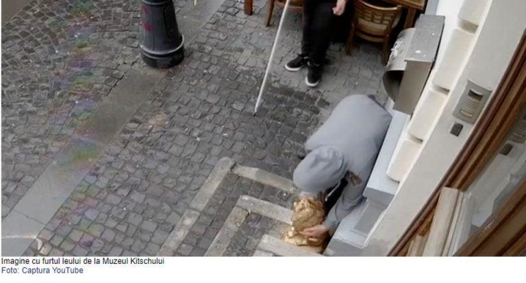 VIDEO – Muzeul Kitschului din Bucuresti calcat de hoti! Daca recunoasteti suspectii, muzeul ofera o carpeta cu Rapirea din Serai!