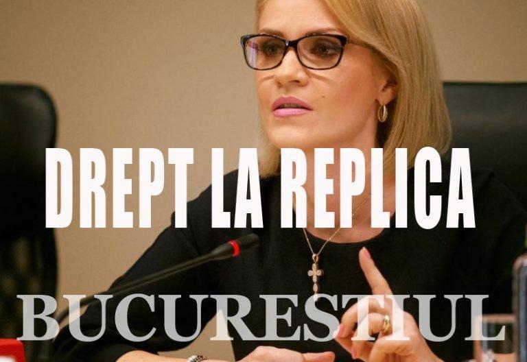 Gabriela Firea nu mai suporta Bucurestiul.ro! A facut plangere penala pentru ca e criticata!