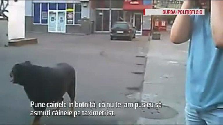 Un bucurestean si-a asmutit cainele, un rottweiler, sa atace mai multi politisti!