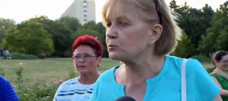 Protest in Parcul Circului! Bucurestenii vor rezolvarea problemelor serioase, nu statui ridicate din bani publici pe spatiul verde!