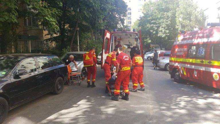 Inca o explozie puternica in Bucuresti! Un barbat are arsuri pe 40% din suprafata corpului!