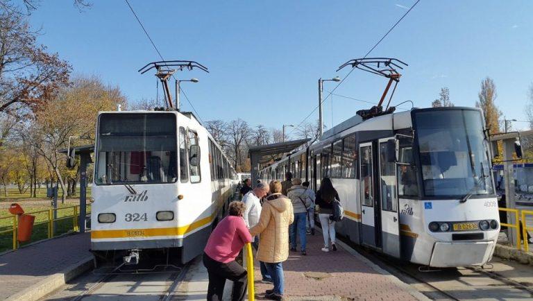 Circulatia tramvaiului 41, suspendata pentru o luna!