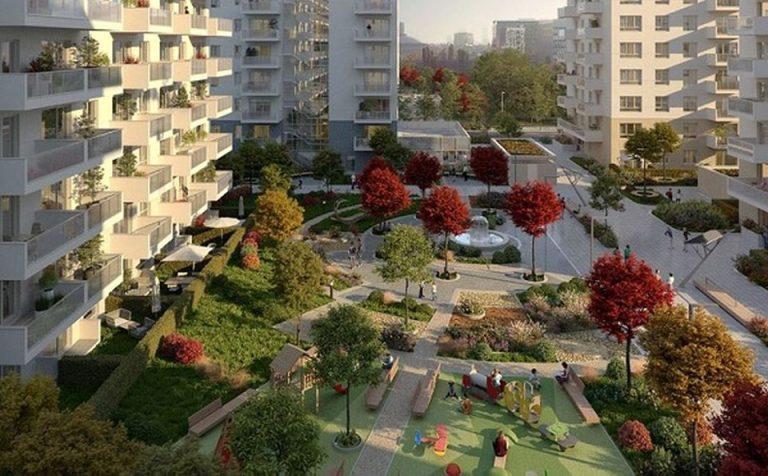 Un nou cartier ia nastere in nordul Bucurestiului. Peste 600 de locuinte, in prima faza!