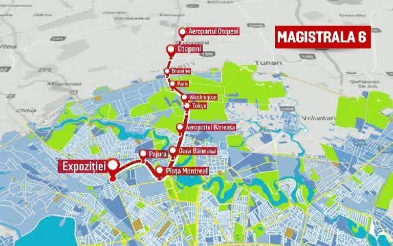 De ce este importanta magistrala 6 de metrou? Ar aduce o dezvoltare fara precedent in istoria moderna a Bucurestiului!