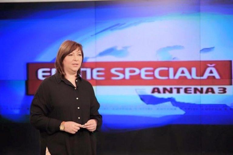 O prezentatoare Antena 3, fosta colega cu Gabriela Firea, a primit peste 400.000 de lei anul acesta pentru a lauda Primaria Sectorului 6!