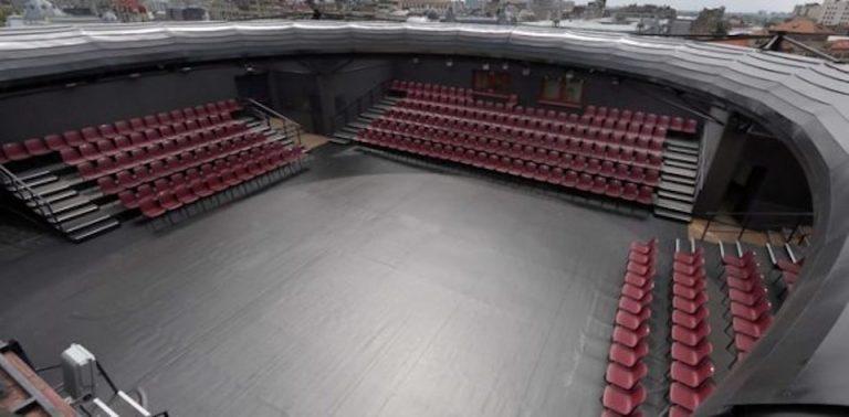 Teatrul National a incheiat lucrarile la senzationala sala de spectacole in aer liber