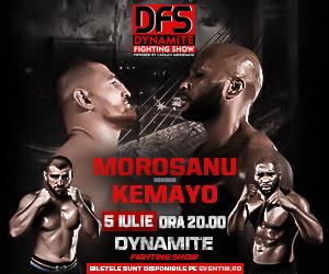 Gala Dynamite Fighting Show: Morosanu vs Kemayo