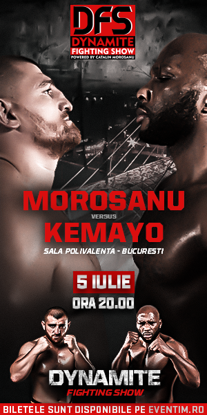 Gala Dynamite Fighting Show: Morosanu vs Kemayo