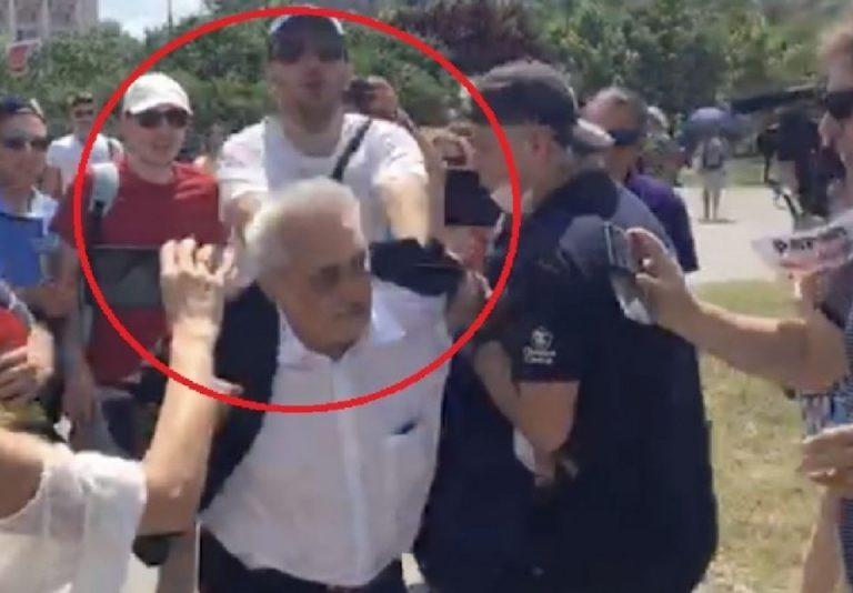 Unde s-a ajuns: Jandarmeria Capitalei a depus plangere la Politie impotriva unui barbat care l-a bruscat pe deputatul PSD Bacalbasa!