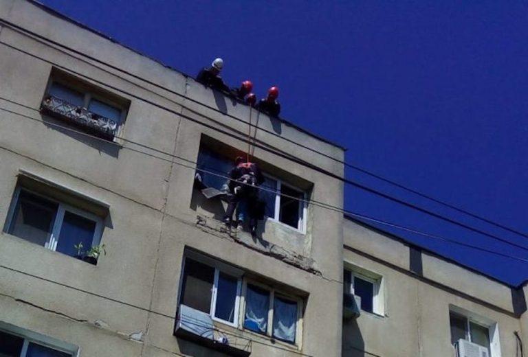 Tentativa de sinucidere in Bucuresti. O femeie a fost salvata in ultima clipa!