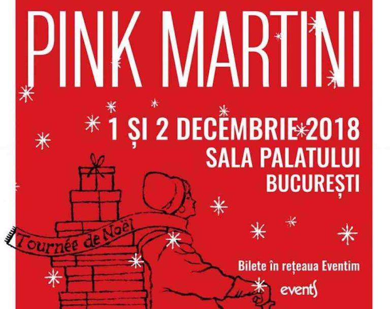 Pink Martini deschide concertele iernii la Bucuresti