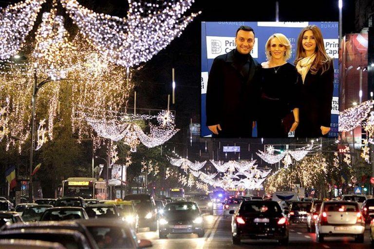 Primaria Bucurestiului, desi aflata in faliment, plateste pentru luminitele de sarbatori de doua ori mai mult decat cea din Viena