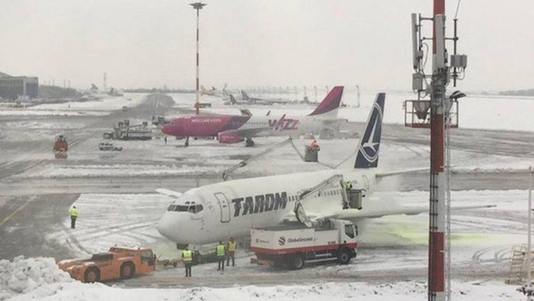 Intarzieri mari pentru avioanele care pleaca de pe Aeroportul Otopeni