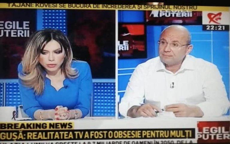 """Oreste anunta sfarsitul Realitatii: """"Pai ce sa susțină Kuzmine? O noua A3 încrucișată cu RTV!?"""""""