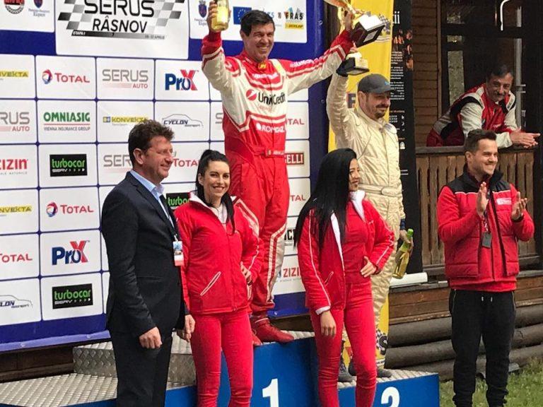 Mihai Leu și al său Ferrari 458 Challenge Evo, castigatori la clasa GT a Campionatului Național de Viteză în Coastă Dunlop