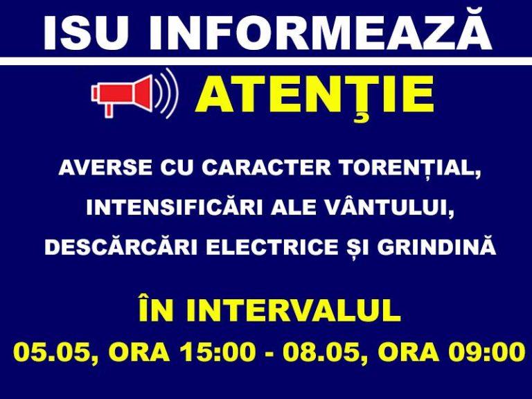 Mesaj alarmant al ISU Bucuresti-Ilfov catre populatie: Adapostiti-va!