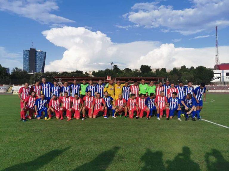 Echipa lui Mario Jardel a castigat marele meci demonstrativ de pe stadionul Dinamo