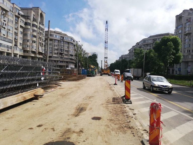 Trafic restrictionat pana in septembrie pe bulevardul Decebal